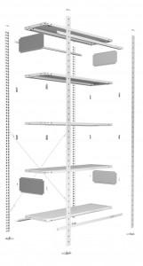 Grundausstattung im Überblick des Stecksystems